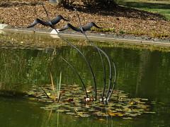 IMG_6981 at the entrance (belight7) Tags: metal birds art stoke poges bucks uk england memorial garden stokepoges