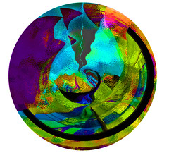Looking Into the Kaleidascope (soniaadammurray - On & Off) Tags: digitalart art myart visualart experimentalart abstractart contemporaryart colours line shapes patterns globe kaleidoscope shadows reflections artchallenge artweekgallerygroup ~~~kaleidoscopemirrorart~~~ picmonkey photoshop