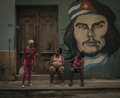 Streets of Havana - Cuba (IV2K) Tags: sony rx1 sonyrx1 35mm zeiss habana havana lahabna cuba cuban kuba cubano caribbean habanavieja centrohavana hiphavana cheguevara che graffiti