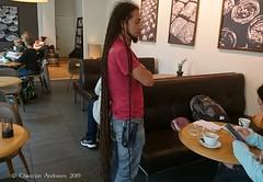 ... Bob Marley was here ... (ChristianofDenmark) Tags: christianofdenmark denmark copenhagen autumn long hair bob marley