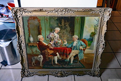Three dandies joined our household (Can Pac Swire) Tags: connoisseurs art arts fine old painting canvas pierredelage three 3 dandy dandies frame vintage 2019aimg8251 connoisseur connaisseur connaisseurs oil