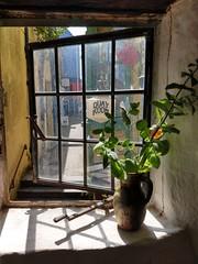 Photo of An upstairs window at the Tudor Merchant's House