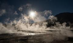 Diffusion (MrBlackSun) Tags: steam vapour damp geysers eltatio eltatiogeysers landscape nikon d850 sunrise