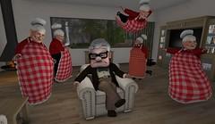 Grandpa Cloned Grandma (antoniohunter55) Tags: grandpa avatar grandma halloween role play animeshop funny v2 the secondlife sl