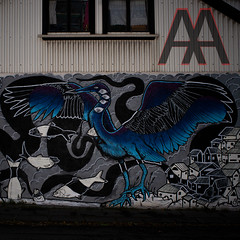 Mural (Antabus-Antti) Tags: art painting mural iceland