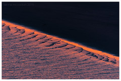 The Dividing Line (ianrwmccracken) Tags: pettycur d750 150600mmf563c sand landscape sunset sigma nikon fife wave abstract telephoto scotland tide beach contrast
