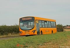 YJ59AYY Sanders Coaches 407 (theroumynante) Tags: yj59ayy sanders coaches 407 vdl bus sb200 wrightbus eclipse pulsar bodham norfolk buses singledeck lowfloor road transport
