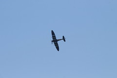IMG_2453 edit (routemaster2217) Tags: clactononsea clactonairshow clactonairshow2019 airshow airdisplay aviation aircraft aeroplane military raf royalairforce bbmf battleofbritainmemorialflight worldwar2 wwii warbird rollsroycemerlin supermarinespitfire spitfiremkvb ab910