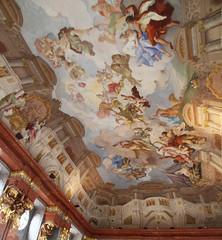 Ceiling Melk Abbey 2 (ahisgett) Tags: melk abbey austria danube
