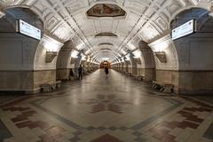 Belorusskaya (gubanov77) Tags: architecture design interior hall station city urban subway metro moscowmetro moscowphotography underground moscow russia belorusskaya metropoliten mosaic arches