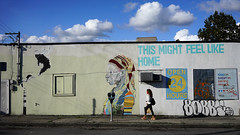 """This might feel like home"" (Eric Flexyourhead) Tags: vancouver canada britishcolumbia bc mainstreet eastvan eastvancouver city urban street streetscape cityscape streetscene streetphotography mural art artwork 169 sonyalphaa7 zeisssonnartfe35mmf28za zeiss 35mmf28"