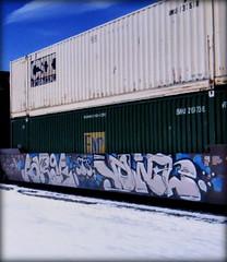 forge - vowel (timetomakethepasta) Tags: forge vowel aub sts freight train graffiti art intermodal emp csx