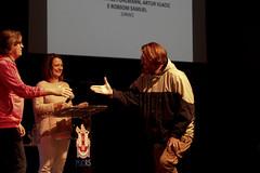 Entrega da premiação (eusoufamecos) Tags: vermelho