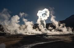 Lightening Cloud (MrBlackSun) Tags: steam vapour damp geysers eltatio eltatiogeysers landscape nikon d850 sunrise