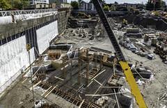 That should anchor it (Tony Tomlin) Tags: whiterock britishcolumbia canada construction excavator