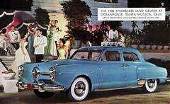 1950 Studebaker Land Cruiser (aldenjewell) Tags: 1950 studebaker land cruiser postcard oceanhouse santa monica california