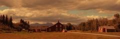 Bar U Historic Ranch Parks Canada (Mr. Happy Face - Peace :)) Tags: historic baru ranch alberta canada cans2s art2019 albertabound sky clouds sun