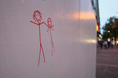 "love expressed (peaceblaster9) Tags: grafitti wall street sanfrancisco california 落書き 壁 ストリート サンフランシスコ カリフォルニア ""ricoh gr gr3"
