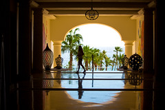 Just Like Heaven (Thomas Hawk) Tags: baja bajacalifornia cabo cabosanlucas hilton hiltonloscabos hotel julia juliapeterson loscabos loscaboshilton mexico mrsth silhouette spouse vacation wife fav10