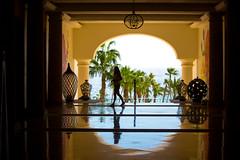 Just Like Heaven (Thomas Hawk) Tags: baja bajacalifornia cabo cabosanlucas hilton hiltonloscabos hotel julia juliapeterson loscabos loscaboshilton mexico mrsth silhouette spouse vacation wife fav10