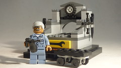 Brick Yourself Custom Lego Set - Mechanic 1