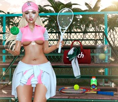 """🔥""""Their challenges are similar to building a bonfire. You have to accumulate fuel and firewood. Light the fire only at the end. Save the best for last.""""🔥 (♛Sara Meifs♛) Tags: evie revoul equal10 wasabi tennis club girl tennisgirlclub"""