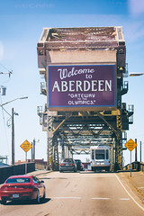 Welcome to Aberdeen (Thomas Hawk) Tags: aberdeen america usa unitedstates unitedstatesofamerica washington washingtonstate bridge fav10 fav25