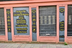Pawn Shop Ghost Sign, Glasgow, UK (Robby Virus) Tags: glasgow scotland uk unitedkingdom britain greatbritain gb ghost sign signage robert biggar pawn pawnbroker argyle