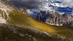 athena (art & mountains) Tags: alpi alps dolomiti dolomiten calcare roccia dolomia muraglia hiking esc esp traversata costabella natura silenzio contemplazione spazio cime vision dream spirit