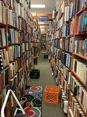 2019-261 - Downtown Books (Steve Schar) Tags: downtownbooks shelves aisle bookstore books iphonexs iphone project365 milwaukee wisconsin 2019