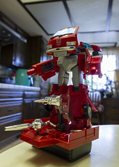 1984 (Mike - drowning in plastic) Tags: transformers toy figure jfigure ironhide prime megatron masterpiece