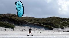 Blue sail - Saint Pabu (patrick_milan) Tags: kit surf saint pabu plage beach finistere