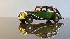 Riley Kestrel, Green & Black 2 Tone. (ManOfYorkshire) Tags: diecast oxforddiecast 176 scale model car auto riley kestrel 2tone greenblack oogauge miniature