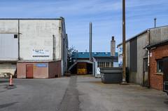 Industrial harbour (AstridWestvang) Tags: aalborg building denmark harbour industry