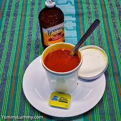 Tomato and chicken soup (garydlum) Tags: gingerbeer soup canberra australiancapitalterritory australia