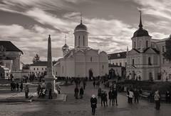 Trinity Sergius Lavra (Lyutik966) Tags: trinitysergiuslavra obelisk temple church people religion orthodoxysergievposad russia architecture dome marculescueugendreamsoflightportal