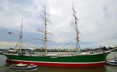 Hamburg - Rickmer Rickmers (cnmark) Tags: germany deutschland hamburg port hafen landungsbrücken rickmerrickmers segelschiff shipofsail tall ship boat vessel barque bark ©allrightsreserved