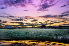 Interstate 5  Beauty (danialficek1) Tags: sky sunset farm oregon interstate5 i5 salem albany salemoregon albanyoregon nikon d5000 hdr reflections