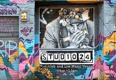 Studio 24 (Lense23) Tags: edinburgh graffiti club artwork streetart scotland schottland