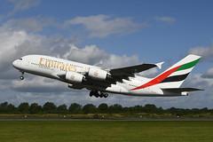 Photo of A6-EVB Airbus A380-842 EGCC 17-08-19