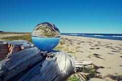 Drifting Into The Distance (paul.wesson) Tags: beach lensball lensballphotography nb summer2019 saintlouis canada