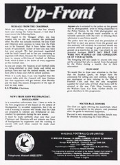 Walsall vs Preston North End - 1982 - Page 3 (The Sky Strikers) Tags: walsall preston north end fellows park football league milk cup road to wembley official matchday magazine 35p