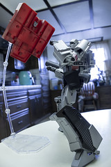 Haunted (Mike - drowning in plastic) Tags: transformers toy figure jfigure ironhide prime megatron masterpiece
