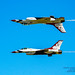 A Perfect Calypso Pass by the Thunderbirds Solos