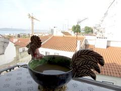 Lisboa XLIV - Principe Real - Cafe na manha (Berliner in Brasil) Tags: portugal lisbon lisboa cup xicara ceramics pottery