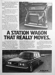 Volvo 265 Automobile ad (brunellr) Tags: volvo 265 automobile ad