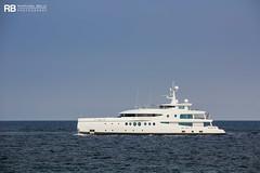 Madame Kate - 60m - Amels (Raphaël Belly Photography) Tags: rb raphaël raphael belly photographie photography yacht boat bateau superyacht my yachts ship ships vessel vessels sea madame kate 60m amels 60 m white blanc bianco imo 1011654 mmsi 319077800