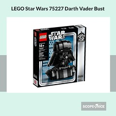 ScopePrice-LEGO-Star-Wars-75227-Darth-Vader-Bust (ScopePrice_) Tags: mountain drawing cute easy draw drawings step by art reference photos photography wall painting from photographs