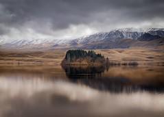 reflections on a New Zealand lake. (ndoake) Tags: