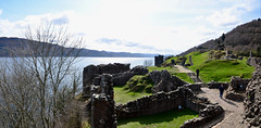 Castle Ruins (Valantis Antoniades) Tags: urquhart castle ruins loch ness highlands scotland lake scottish